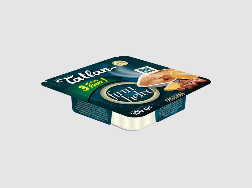 Kutu Ambalaj Tasarımı - Tatlan Helva