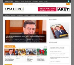 Web Tasarım - LPM Dergi