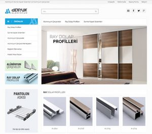 Web Tasarım - Doruk Alüminyum