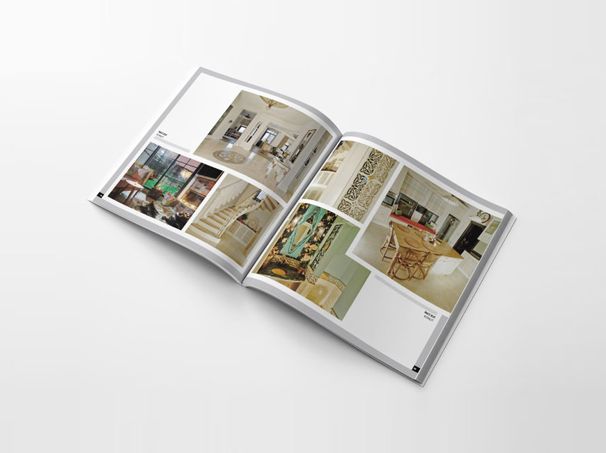 Katalog Tasarımı - Peyke İç Mimarlık