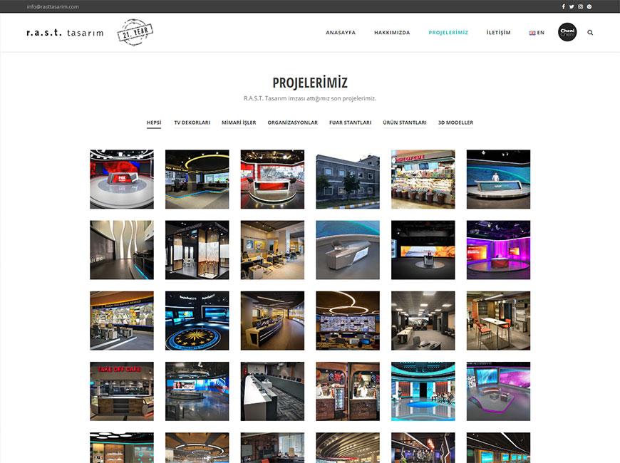 Web Tasarım - RAST Tasarım