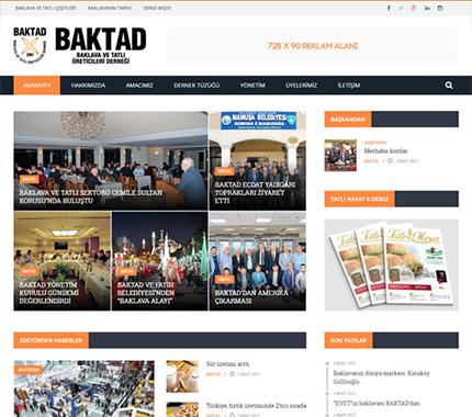 Web Tasarım - BAKTAD Dernek