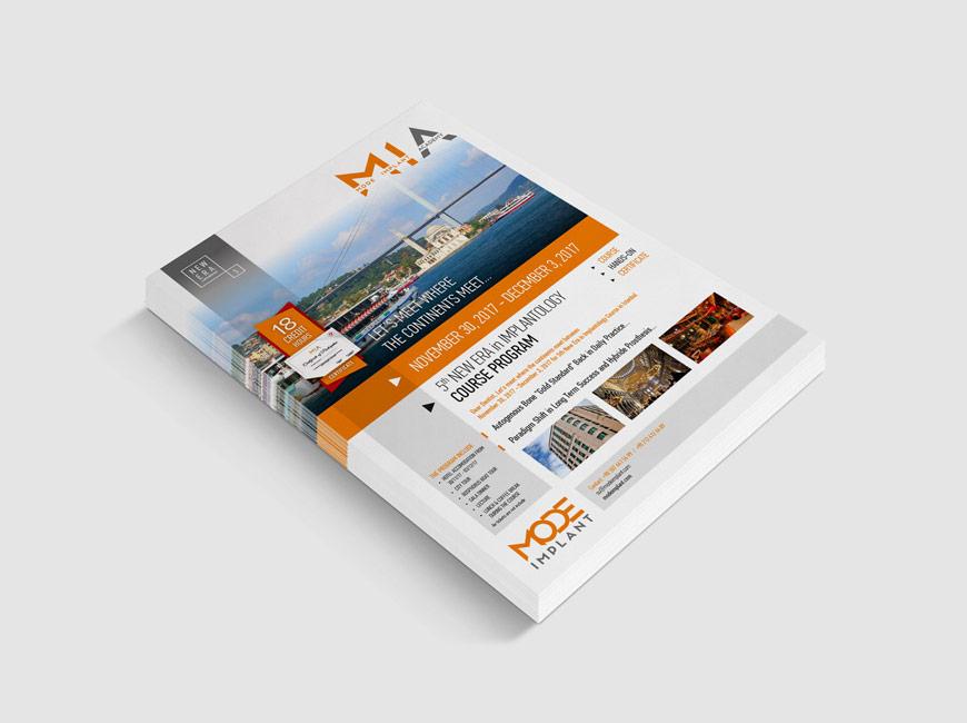 Flyer Tasarımı - MIA Akademi