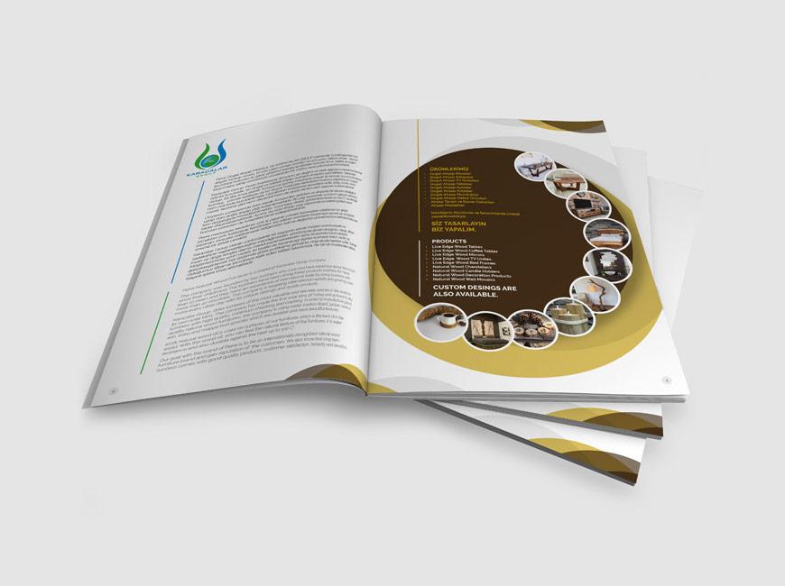Perre Mobilya - Katalog Tasarımı