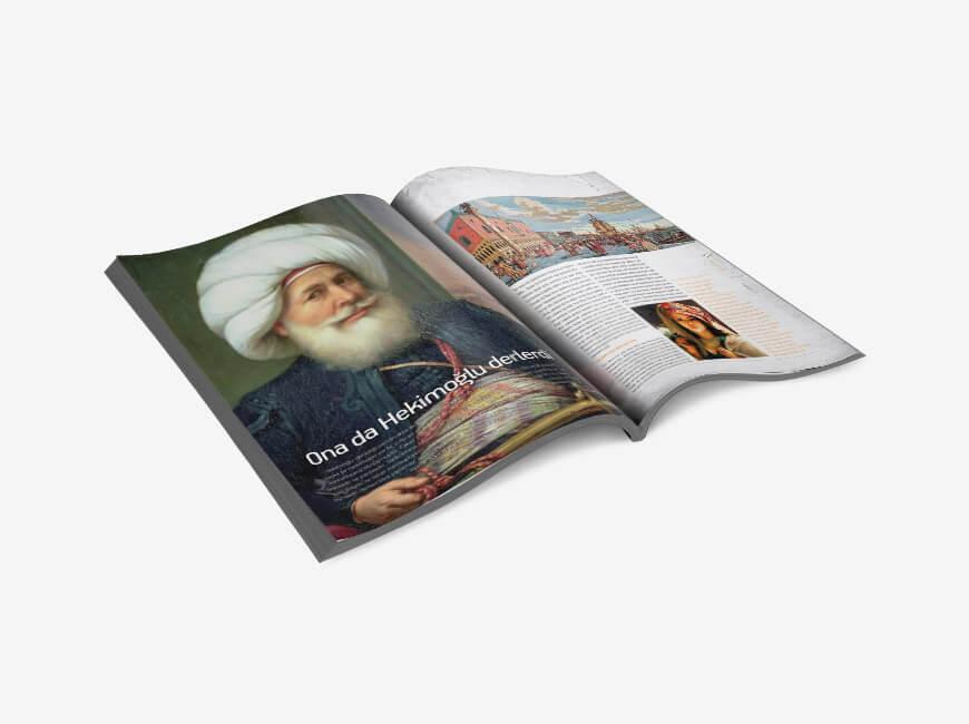 Sergistanbul Kurumsal Dergi Tasarımı Sayı: 66