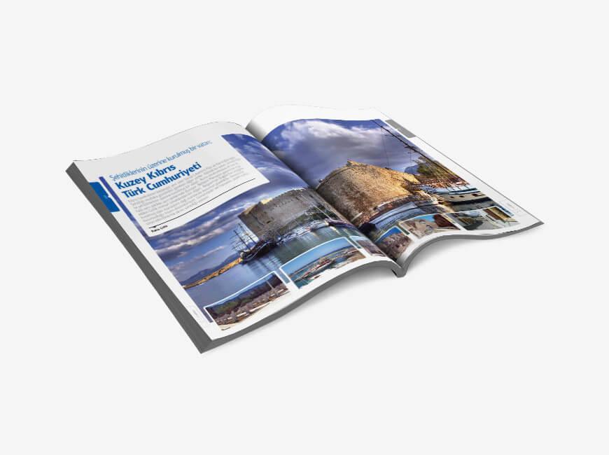 Sergistanbul Kurumsal Dergi Tasarımı Sayı: 68