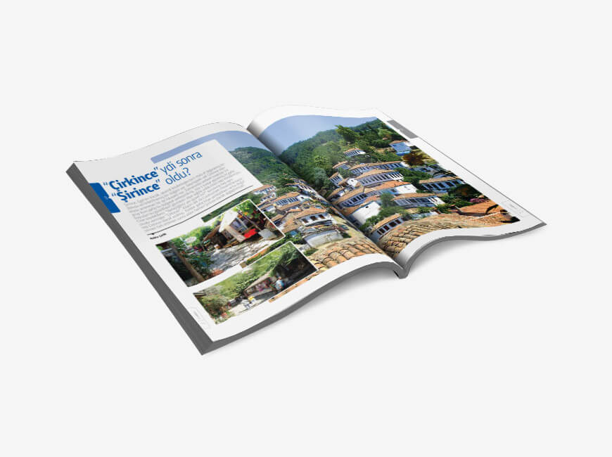 Sergistanbul Kurumsal Dergi Tasarımı Sayı: 69