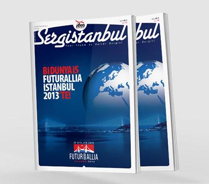 Sergistanbul Kurumsal Dergi Tasarımı Sayı: 70