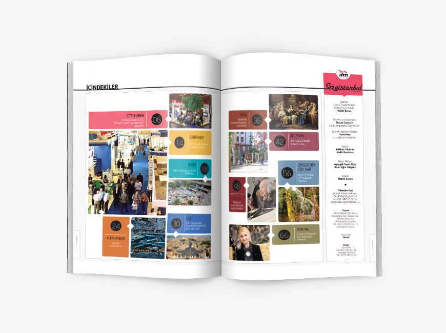 Sergistanbul Kurumsal Dergi Tasarımı Sayı: 71