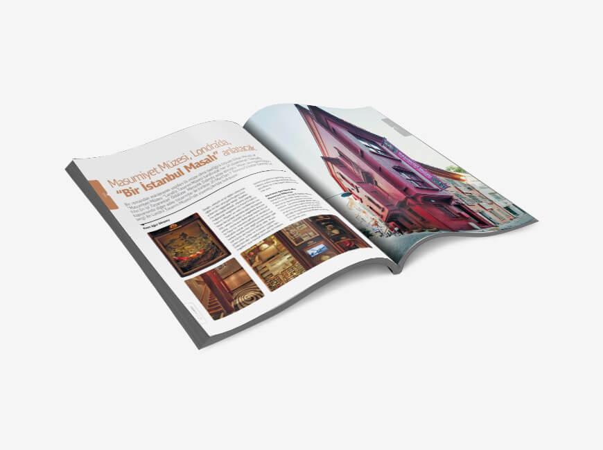 Sergistanbul Kurumsal Dergi Tasarımı Sayı: 72