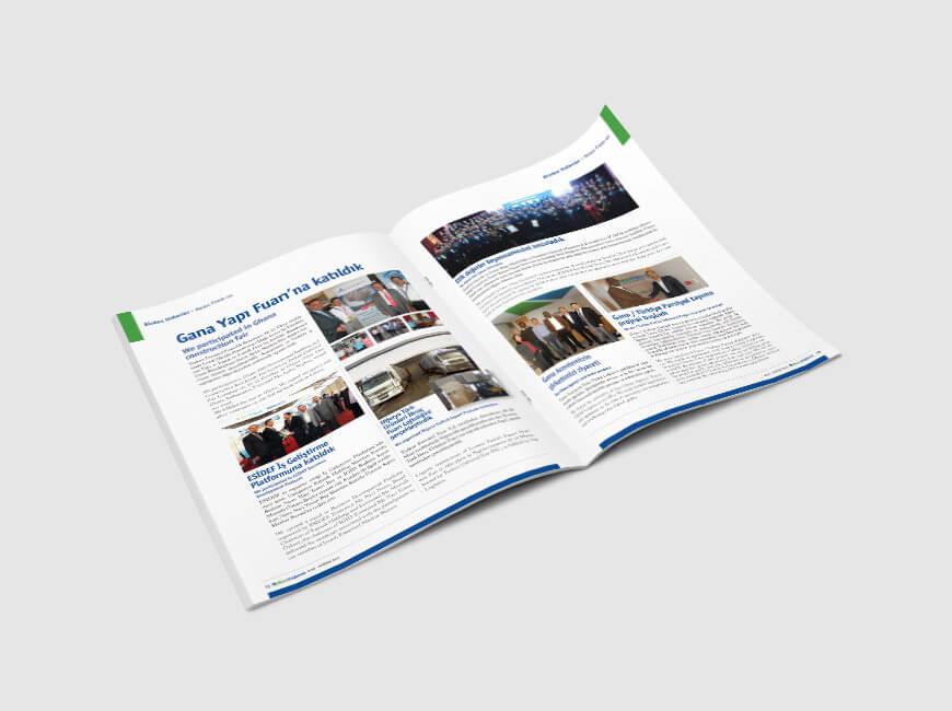 Msn Yıldırım Kurumsal Dergi Tasarımı Sayı: 5