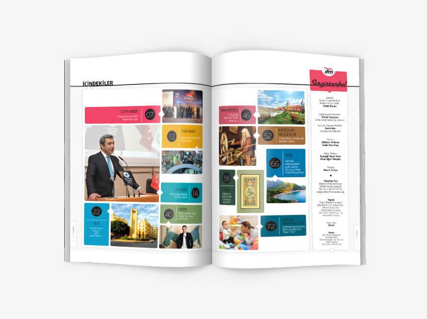 Sergistanbul Kurumsal Dergi Tasarımı Sayı: 73