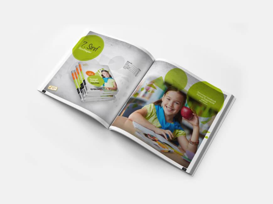 Eksen Yayıncılık Katalog Tasarımı