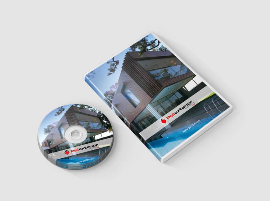 Peliexterior DVD Kutusu Tasarımı