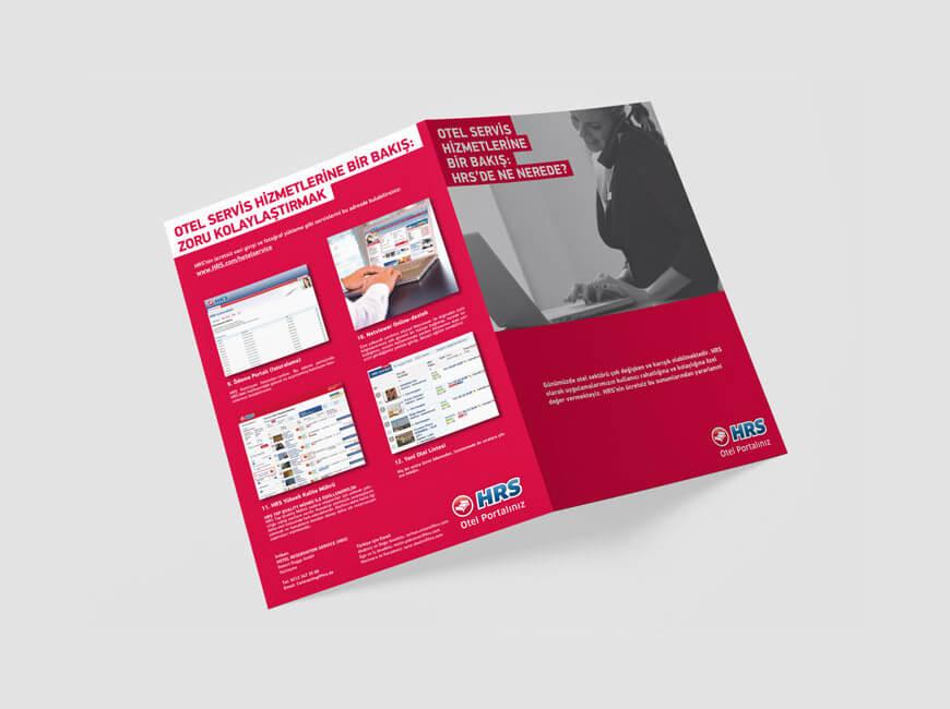 HRS Otel Portalı Broşür Tasarımı