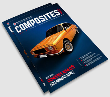Composites Turkey Dergi Tasarımı Sayı: 8