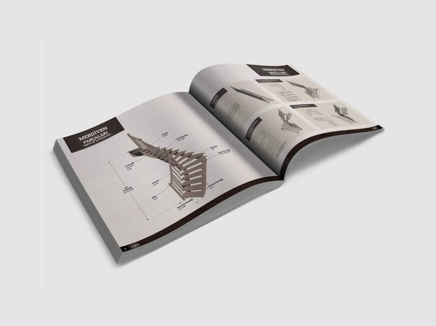 Çakır Ahşap Katalog Tasarımı