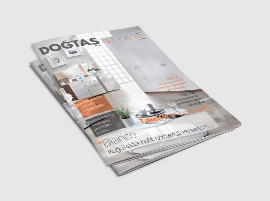 Doğtaş Ailem Dergi Tasarımı Sayı: 2