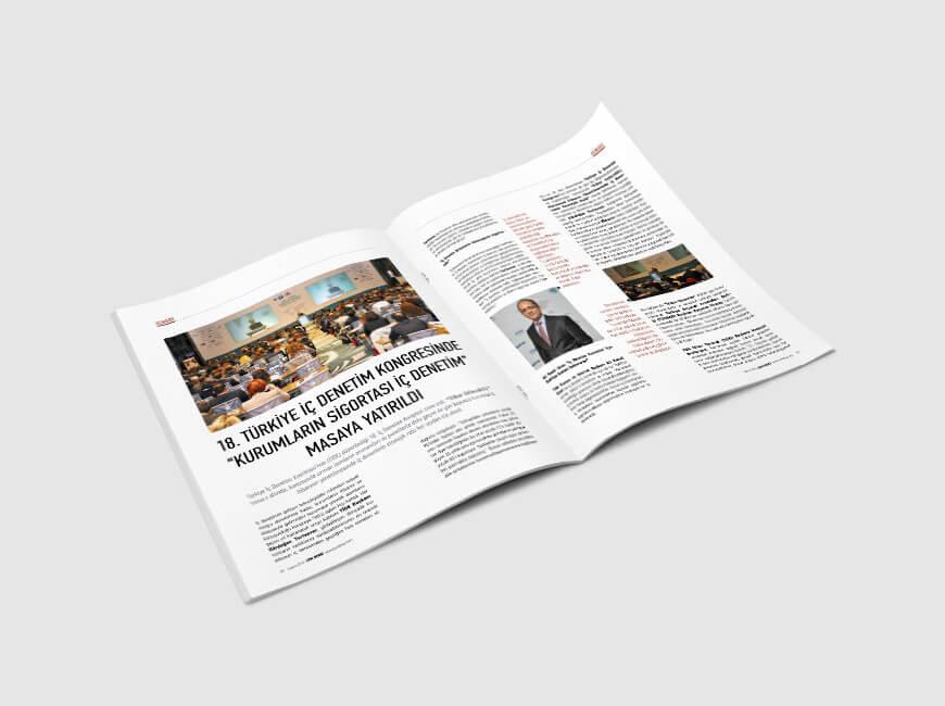 LPM Dergi Tasarımı Sayı: 8