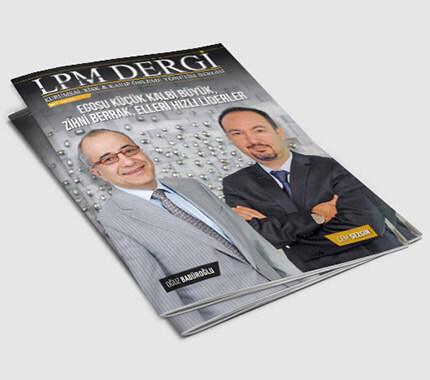 LPM Dergi Tasarımı Sayı: 9