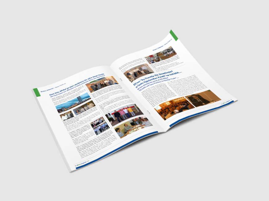 Msn Yıldırım Kurumsal Dergi Tasarımı Sayı: 6