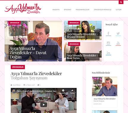 Ayça Yılmaz'la Zirvedekiler Web Site Tasarımı