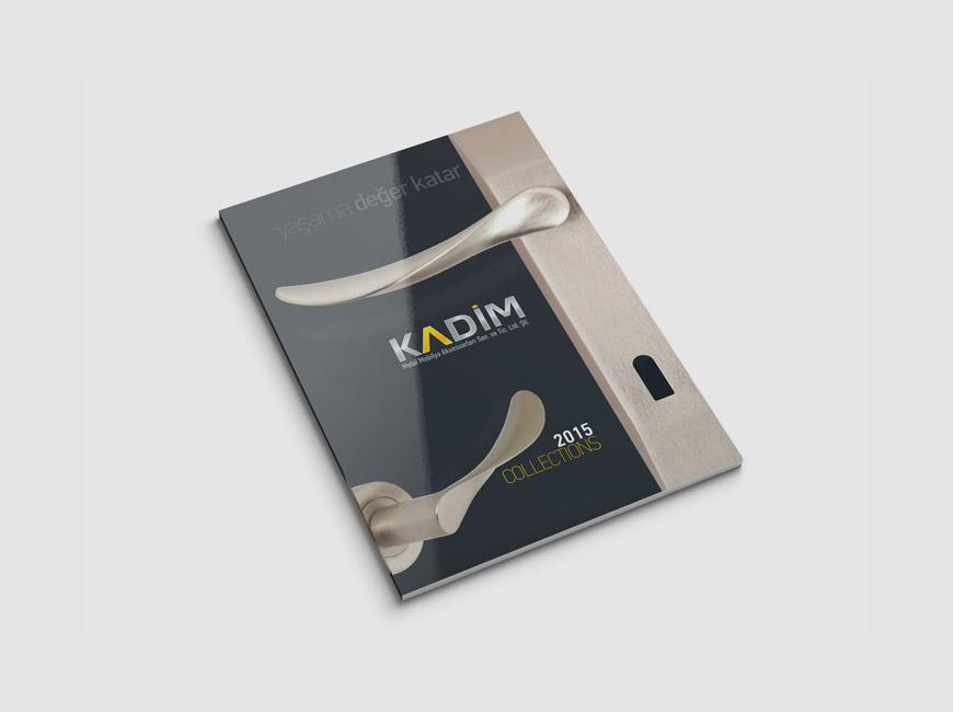 Kadim Metal Katalog Tasarımı
