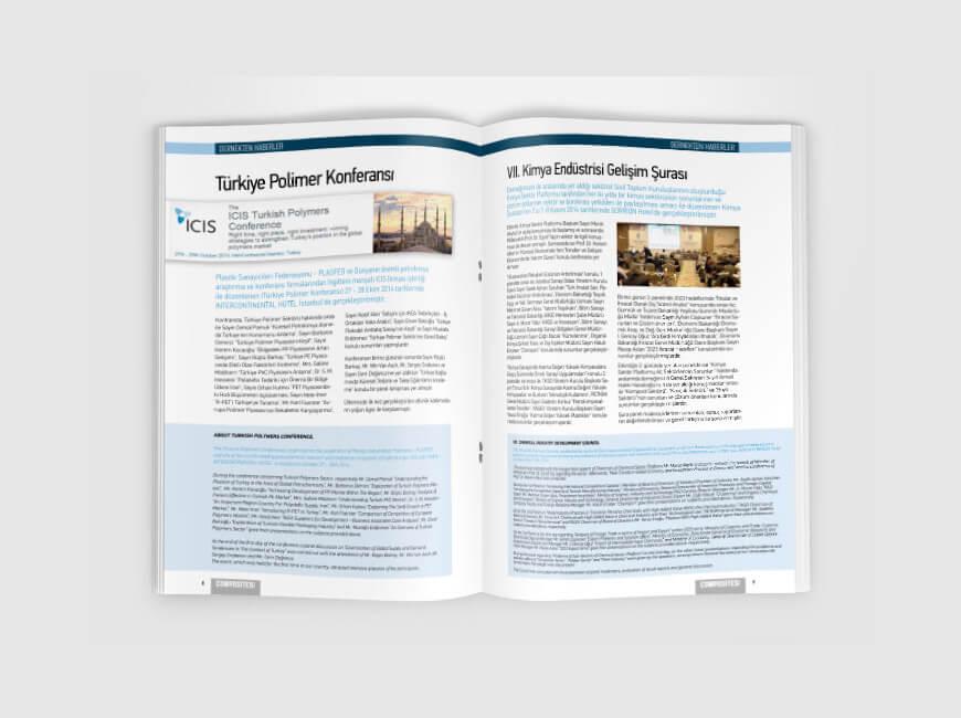 Composites Turkey Dergi Tasarımı Sayı: 9