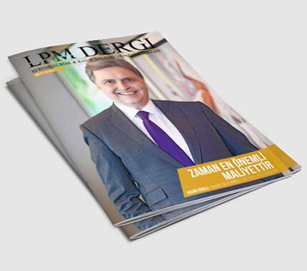 LPM Dergi Tasarımı Sayı: 12
