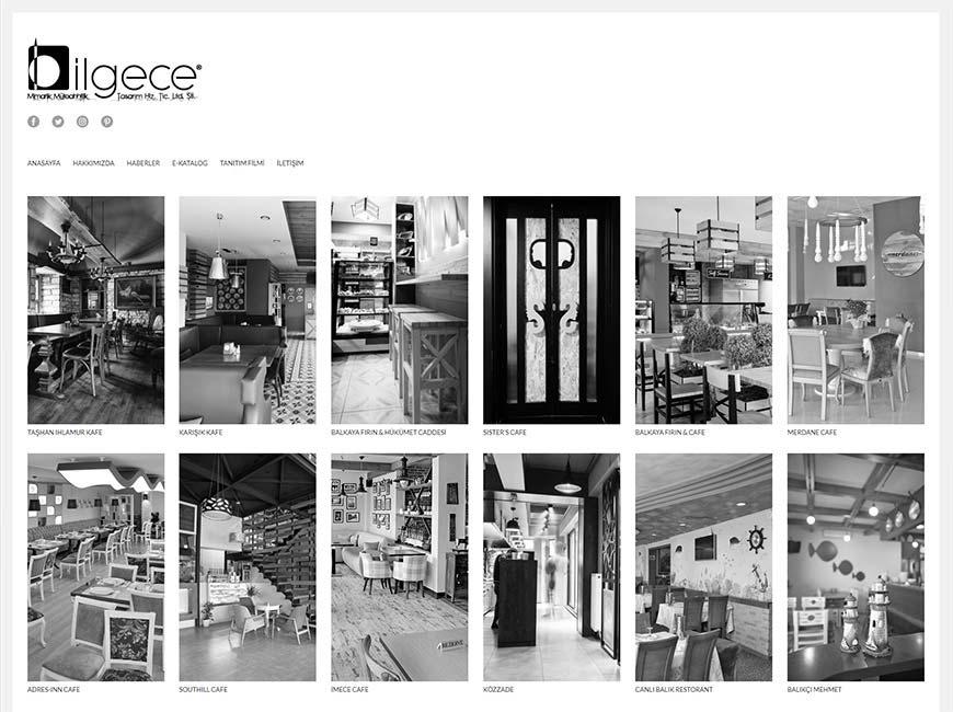 Bilgece Mimarlık Web Site Tasarımı