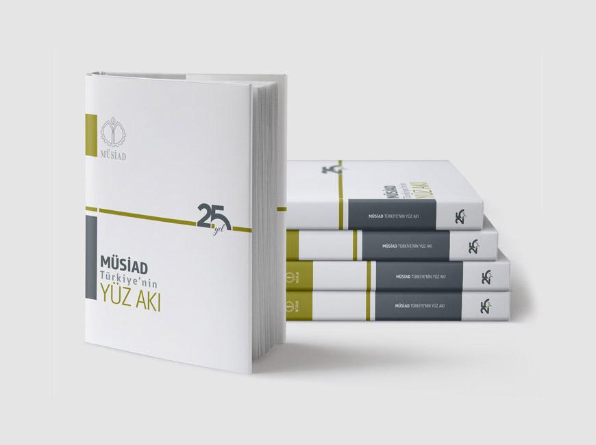 MÜSİAD Türkiye'nin Yüz Akı Kitap Tasarımı