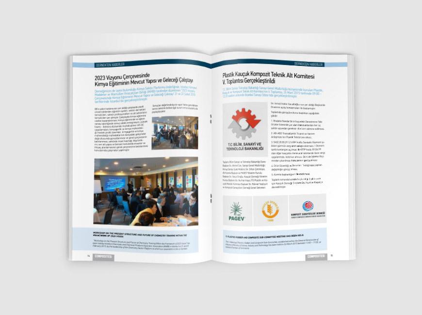 Composites Turkey Dergi Tasarımı Sayı: 10