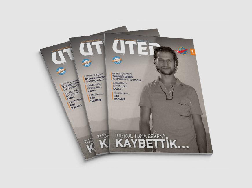 UTED Dergi Tasarımı Sayı: 283