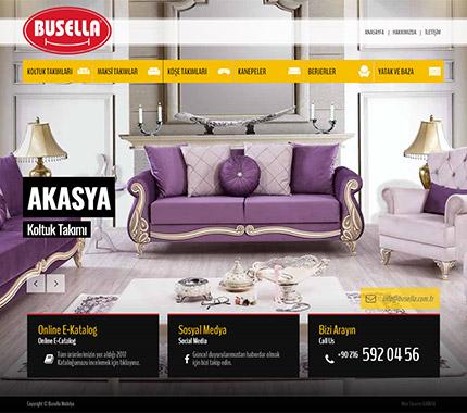 Web Tasarım - Busella Mobilya