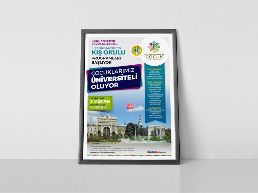Çocuk Üniversitesi Afiş Tasarımı