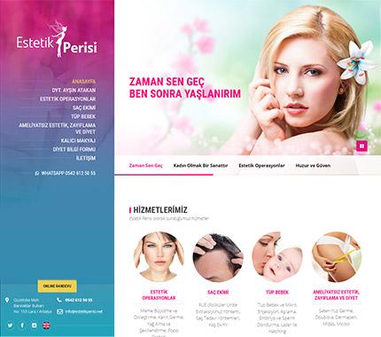 Web Tasarım - Estetik Perisi