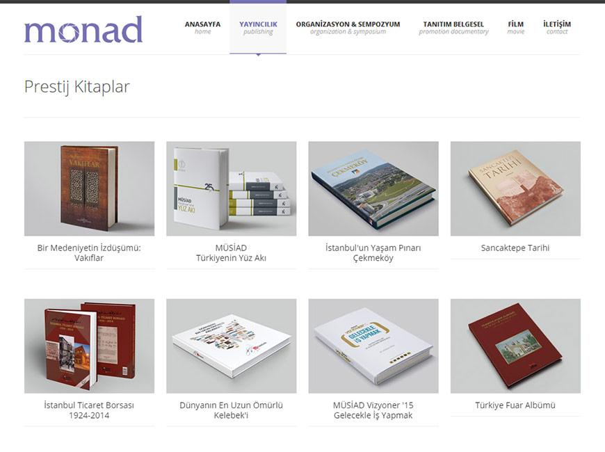 Monad Film Web Site Tasarımı