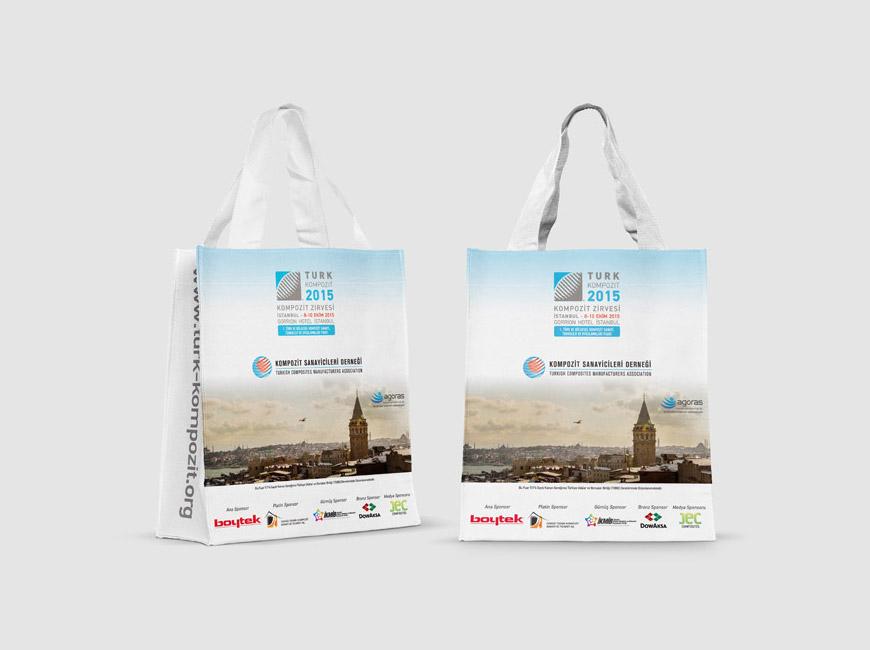 Kompozit Sanayicileri Derneği Bez Çanta Tasarımı