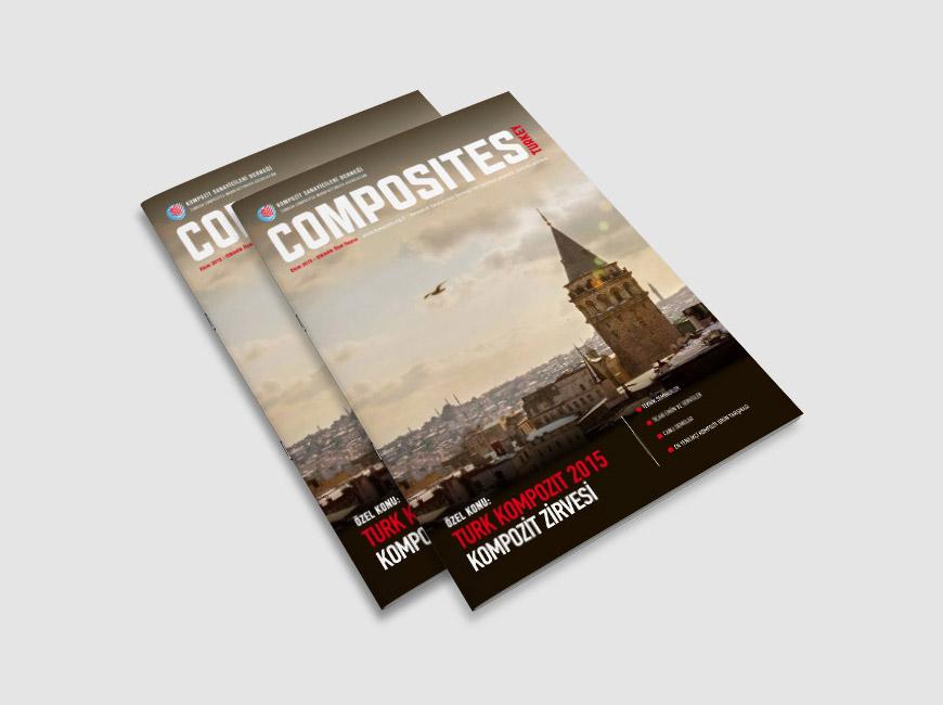 Composites Turkey Dergi Tasarımı Sayı: 11