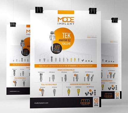 Mode İmplant Afiş Tasarımı
