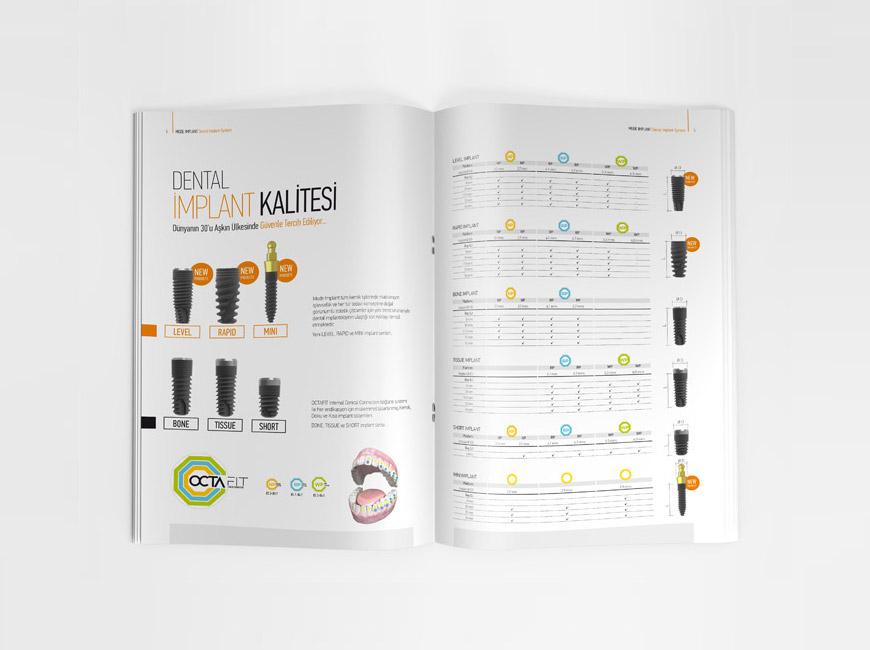 Mode İmplant Broşür Tasarımı