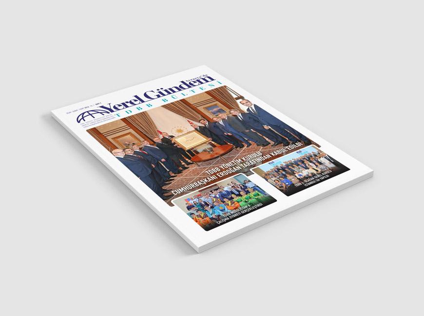 Avrasya'da Yerel Gündem Dergi Tasarımı Sayı: 1