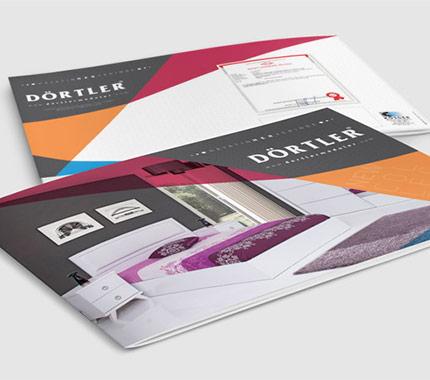 Dörtler Mobilya Broşür Tasarımı