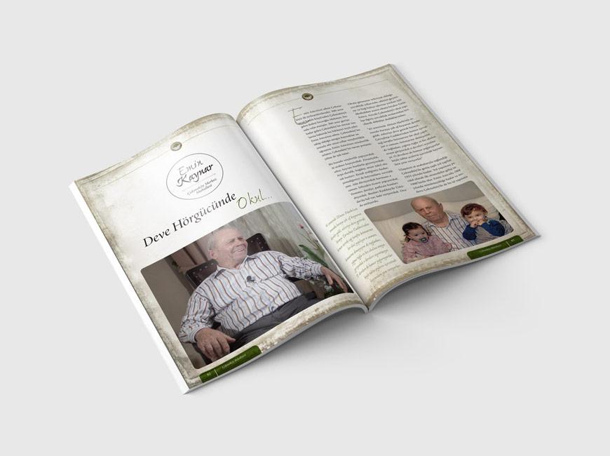 Ailemizin Çınarları Kitap Tasarımı