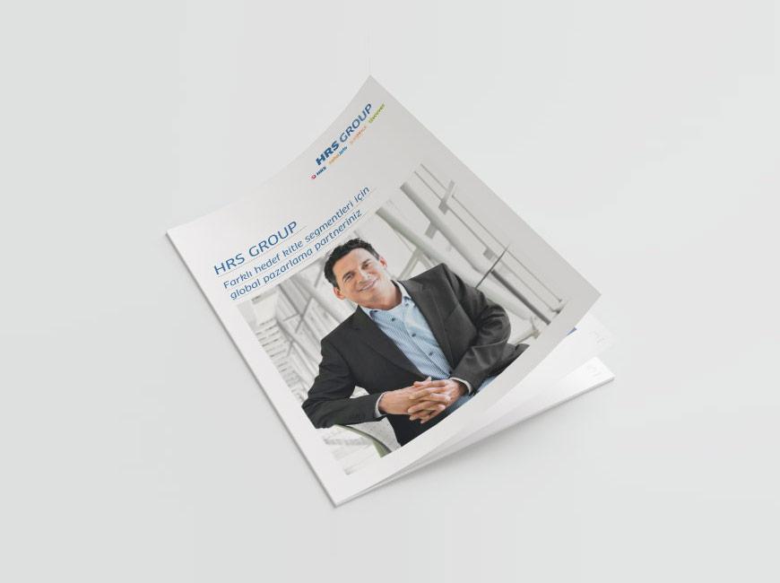 HRS Group Broşür Tasarımı