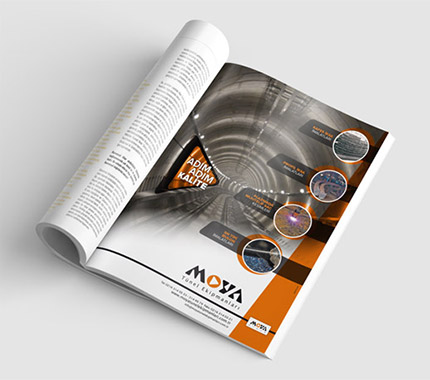 İlan Tasarımı - Moya Tünel Ekipmanları