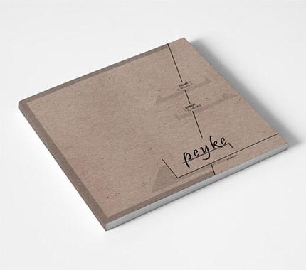 Peyke İç Mimarlık Katalog Tasarımı