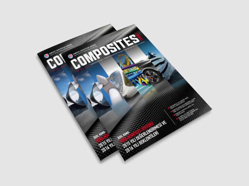 Composites Turkey Dergi Tasarımı Sayı: 12