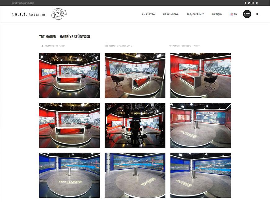 RAST Tasarım Web Site Tasarımı