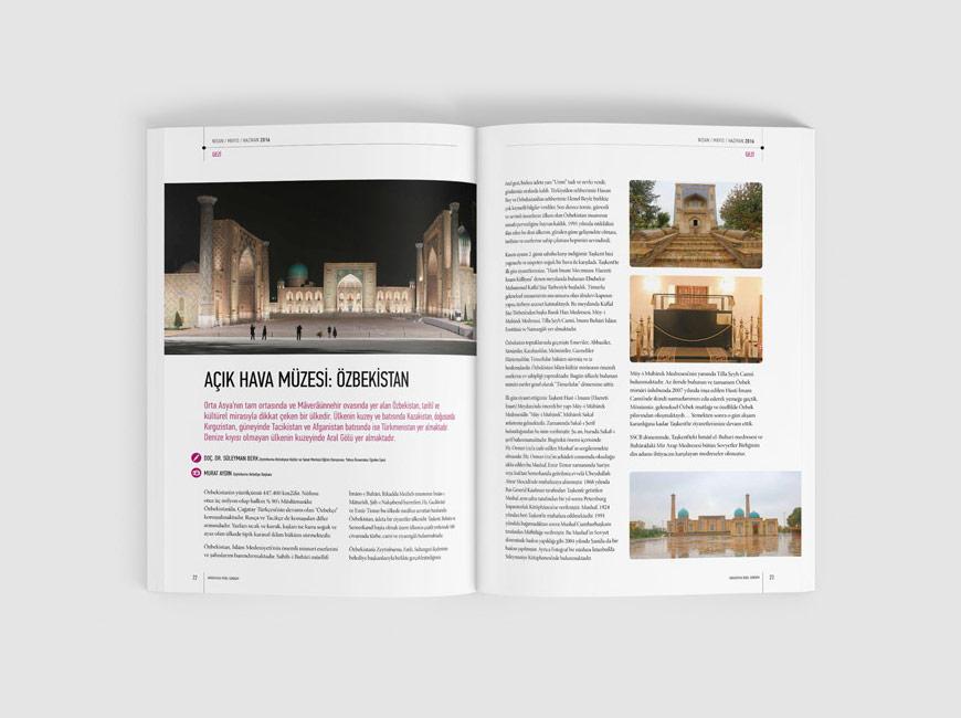 Avrasya'da Yerel Gündem Dergi Tasarımı Sayı: 2